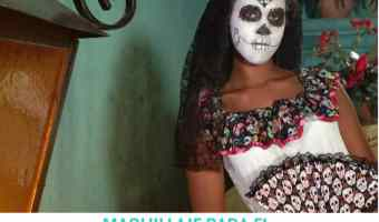 Video: maquillaje de catrina para el día de los muertos
