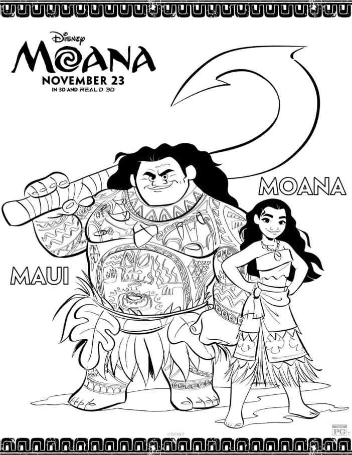 moana-maui-coloring-sheets