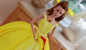 Descubre los detalles del pastel más increíble de la Bella y la Bestia