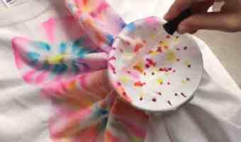 Cómo teñir camisetas con marcadores y alcohol
