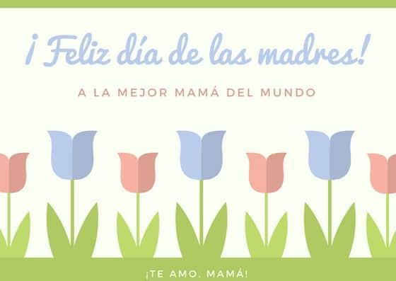 Tarjetas gratis para el dia de la madre
