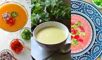 Sopas frías: 3 recetas deliciosas y frescas