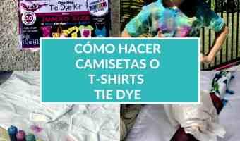 """Manualidades fáciles: cómo hacer una camiseta o franela """"tie-dye"""""""