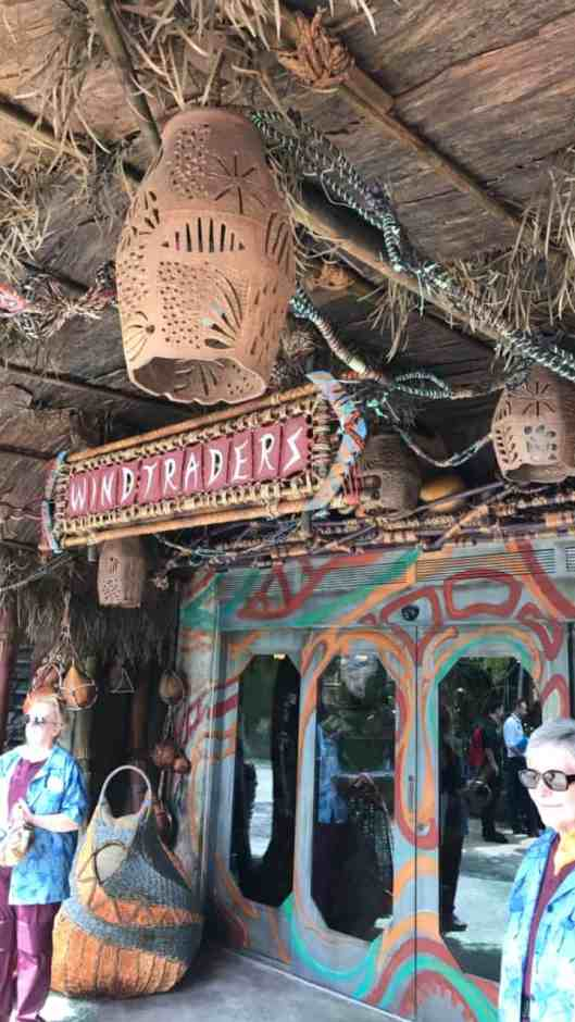 La tienda Windtraders en Pandora, el mundo de Avatar, en Animal Kingdom de Walt Disney World