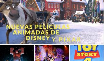 Todo lo que necesitas saber sobre las nuevas películas animadas de Disney y Pixar