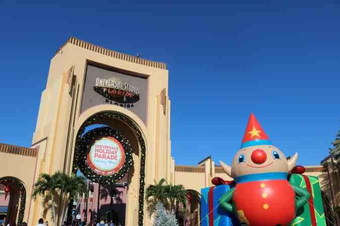 Desfile de Navidad de Universal Orlando Resort