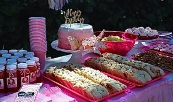 Cómo hacer una fiesta infantil saludable