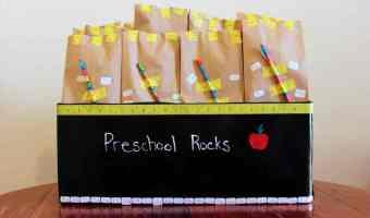 DIY:Bolsas de regalo ideales para la escuela