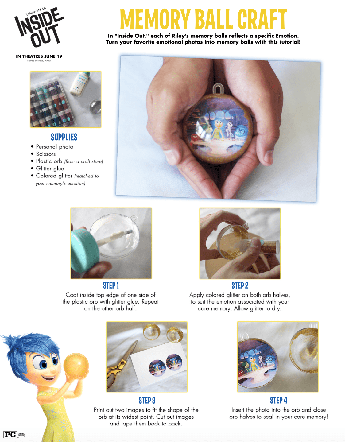 Printable Inside Out Activities For Kids