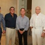 Francisco González, Edgar Perdomo Andrade, Fernando Araujo, Humberto Rodríguez y Armando Visbal.