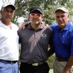 Ricardo Barrios, Ricardo Perdomo Venegas y Alfredo Morales