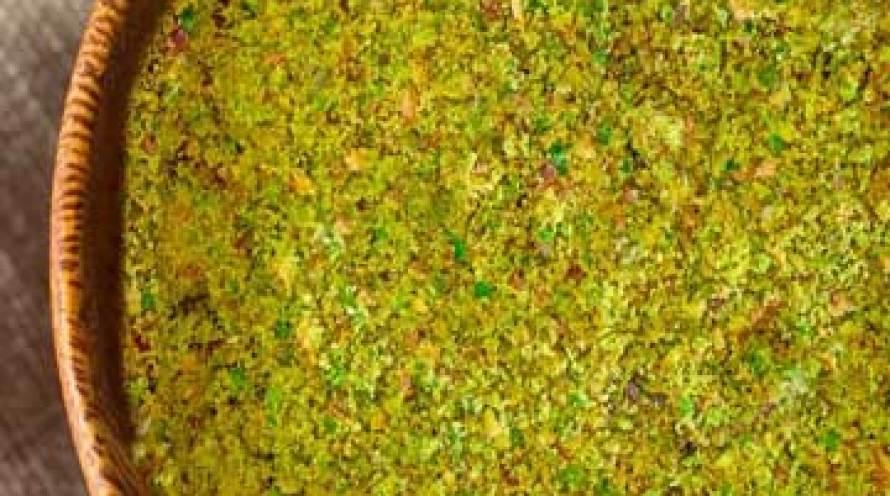 Harina desgrasada de pistachos ecológicos