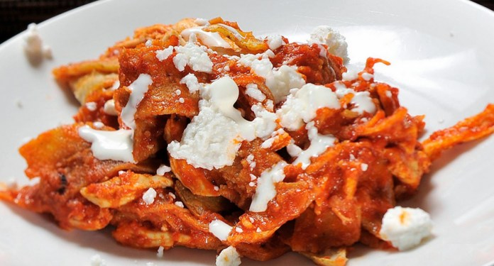 Chilaquiles Rojos Recipe