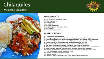 Chilaquiles a Mexican Breakfast Recipe
