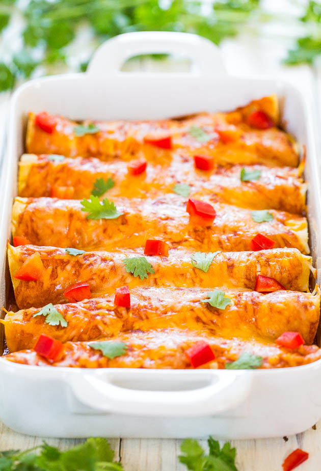 Fast and Tasty Enchiladas Recipe