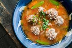 Mexican Meatball Albondiga Recipe