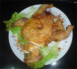 Pollos Rellenos Cubanos ~ Cuban Stuffed Chickens