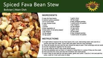Spiced Fava Bean Stew