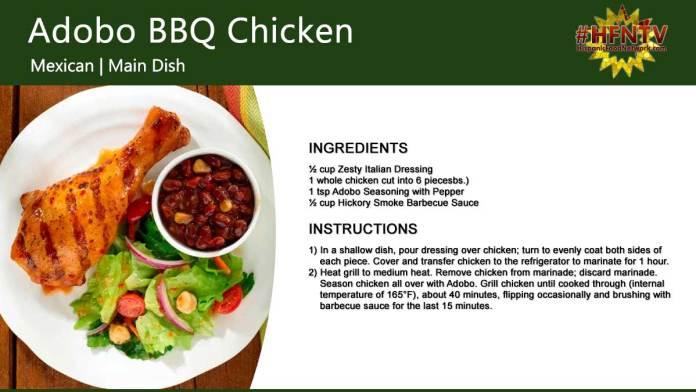 Adobo BBQ Chicken (Adobo de Pollo a la Barbacoa)
