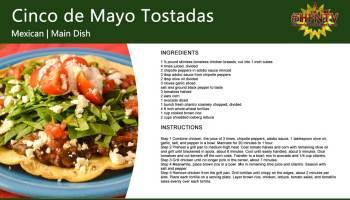 Cinco de Mayo Tostadas