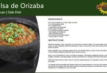 Salsa de Orizaba