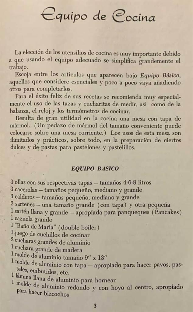Equipo de Cocina Page 3