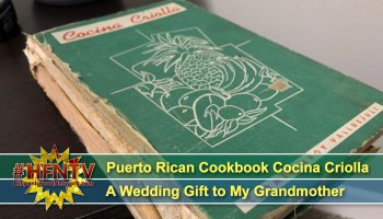 Puerto Rican Cookbook Cocina Criolla