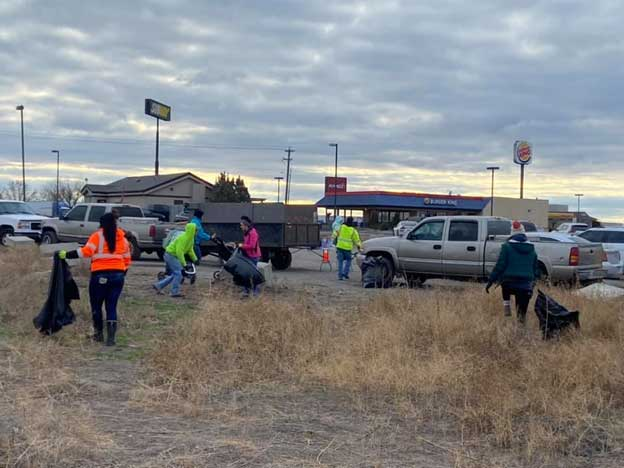 Clean Sweep work to clean up the Tri-Cities