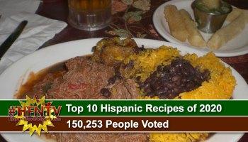 Top 10 Hispanic Recipes of 2020