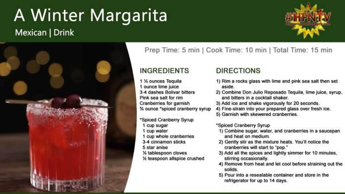 A Winter Margarita