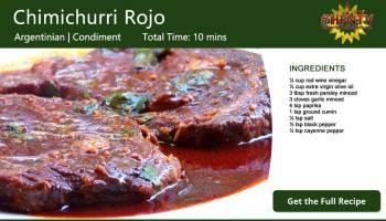 Chimichurri Rojo ~ Red Chimichurri Sauce
