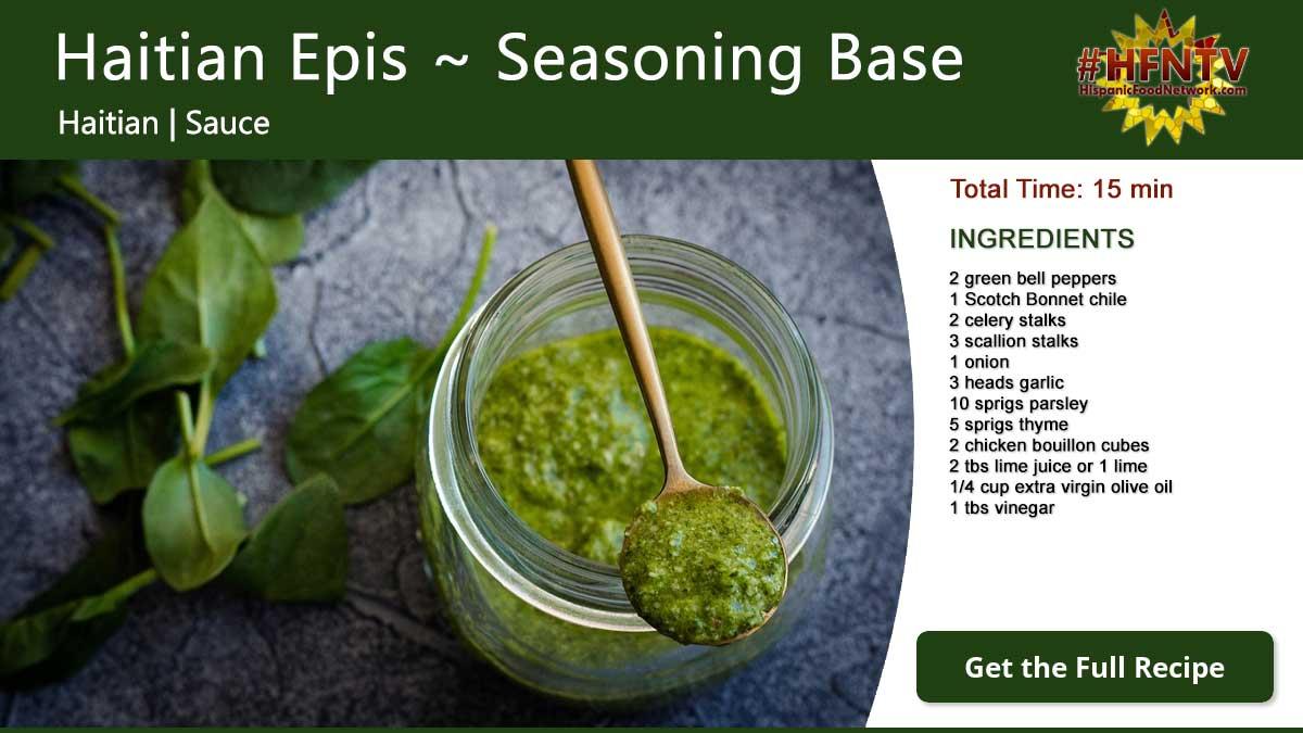 Haitian Epis Haitian Seasoning Base Hispanic Food Network