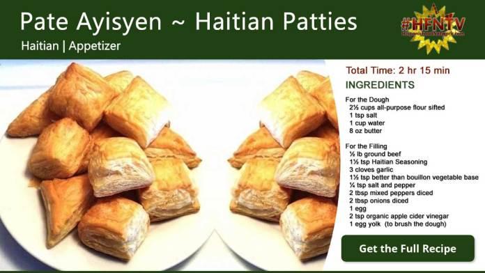 Pate Ayisyen ~ Haitian Patties