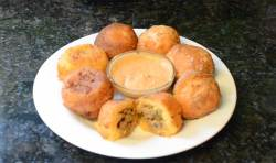 Rellenos de Papa ~ Stuffed Potato Balls