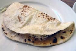 Baleada, a Breakfast Taco