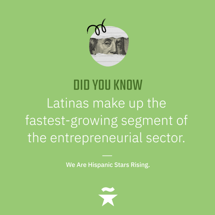 Latinas make up the fastest-growing segment of the entrepreneurial sector.