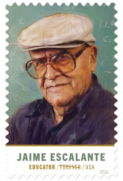 Jaime Escalante stamp