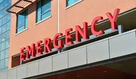 California en la sala de emergencia
