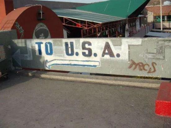 La frontera, cuando no era vip