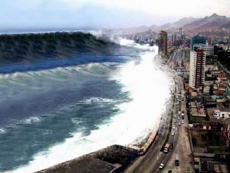 A path with heart: a tsunami that never arrived