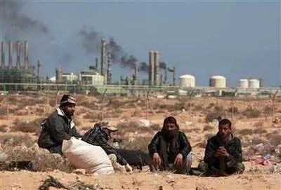 Algo huele mal en libia
