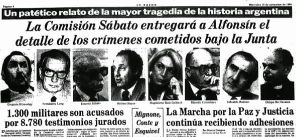 Ernesto Sábato: prólogo a Nunca Más