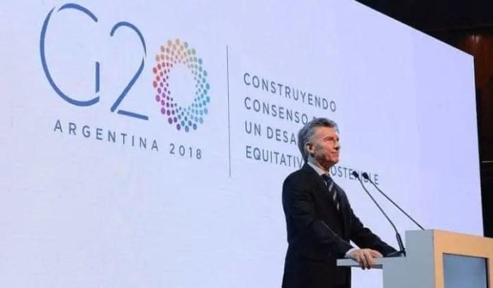 El arribo del g20 a buenos aires