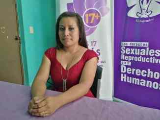 Évelyn Hernández quiere luchar por la justicia en El Salvador