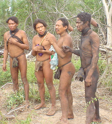 Hello world: Paraguay's Ayoreo Indians at risk from outside contact (1/2)