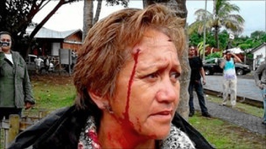 Easter Island Rapa Nui clan in clashes with Chilean police (2/2)