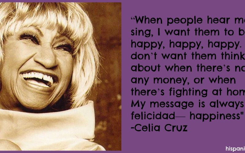 Learning about Celia Cruz