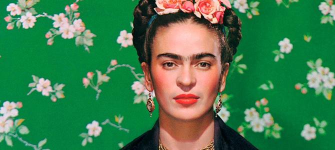 Frida Kahlo Inspired Flower Headband and Children Books