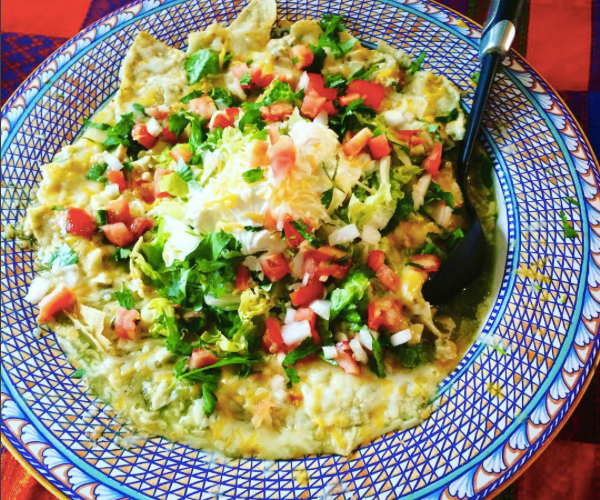 Chilaquiles al Horno for Las Posadas
