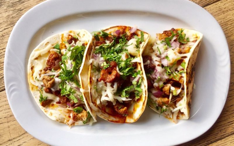 Celebrate National Pork Month With Tacos Al Pastor